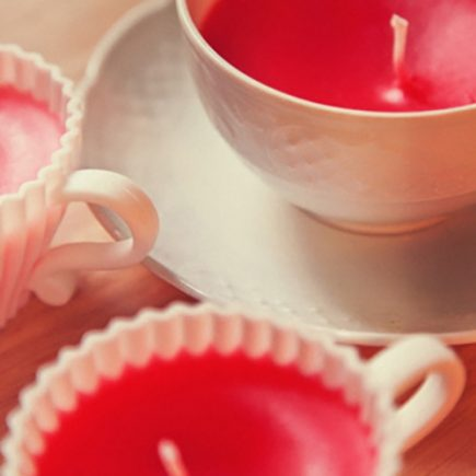 It's Tea Time! DIY bougies originales