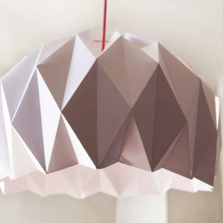 DIY, Une jolie suspension origami DIY