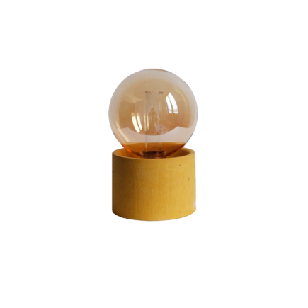 Lampe Pylone Moutarde